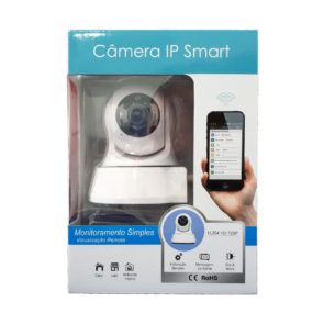 CAMERA IP INFRA WIFI H264 HD 720P COM AUDIO