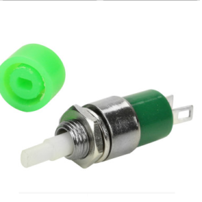 CHAVE PUSH BUTTON SEM TRAVA DS-323 2 VERDE