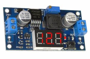 MODULO AJUSTAVÉL LM2596 COM DISPLAY_1